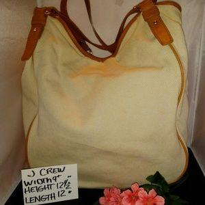 HUGE J CREW BAG